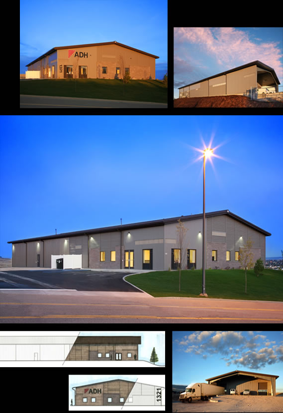 The exterior design on three sides of the building had to meet strict  design convenants by the City of Casper due to the location ADH. Architectural Doors And Hardware Casper Wy. Home Design Ideas